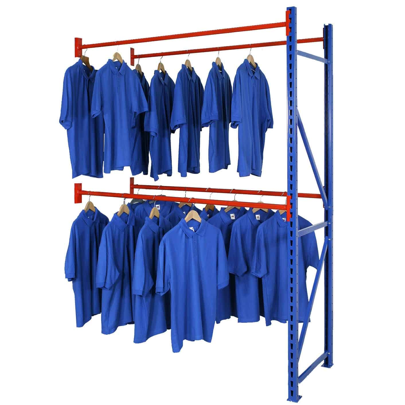 Longspan Garment Rack Extension Bay