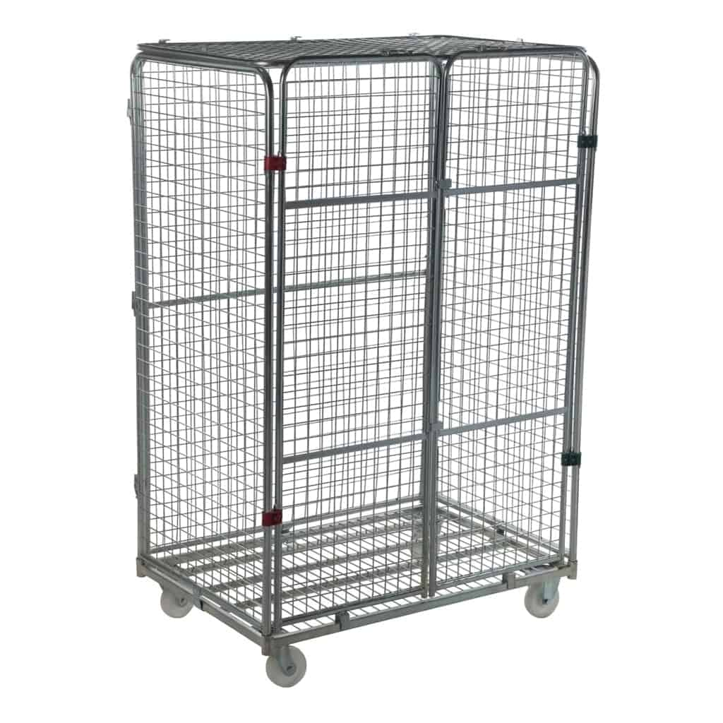 Four Sided Jumbo Security Roll Pallet