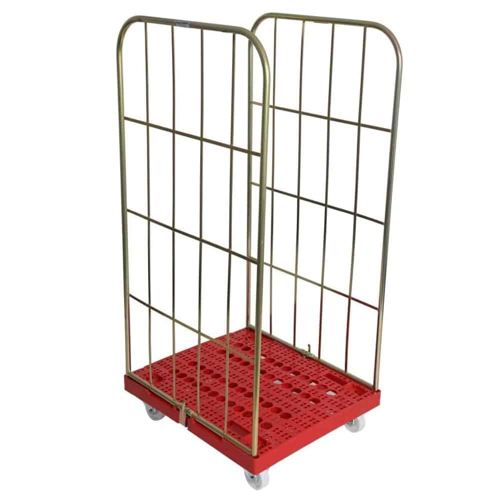 Two Sided Plastic Base Demountable Cage