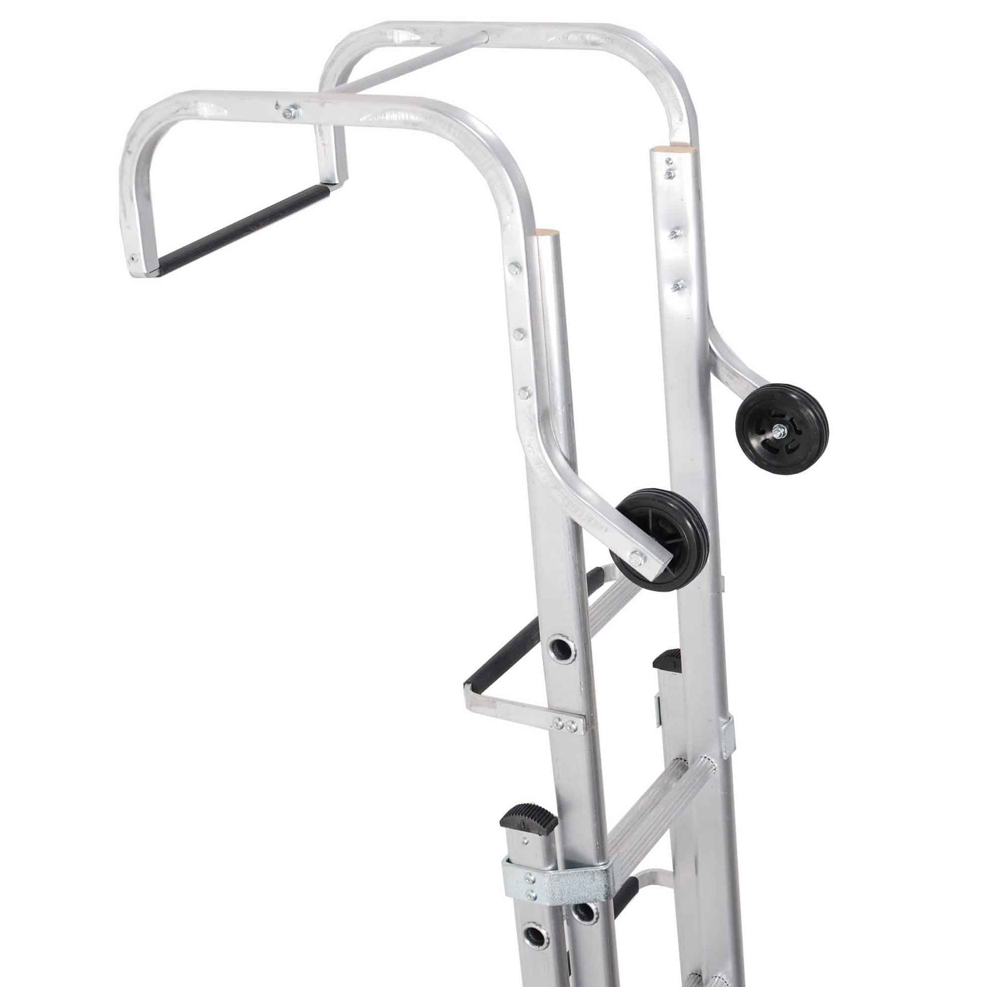 Double Section Aluminium Roof Ladders | Free Delivery ...