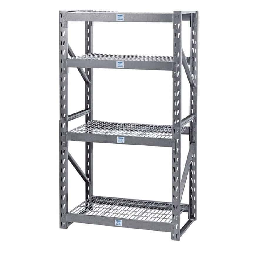 Heavy Duty Steel 4 Shelving Unit