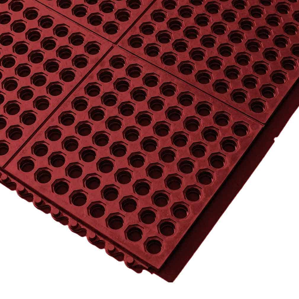 Cushion Link Open Top Rubber Matting