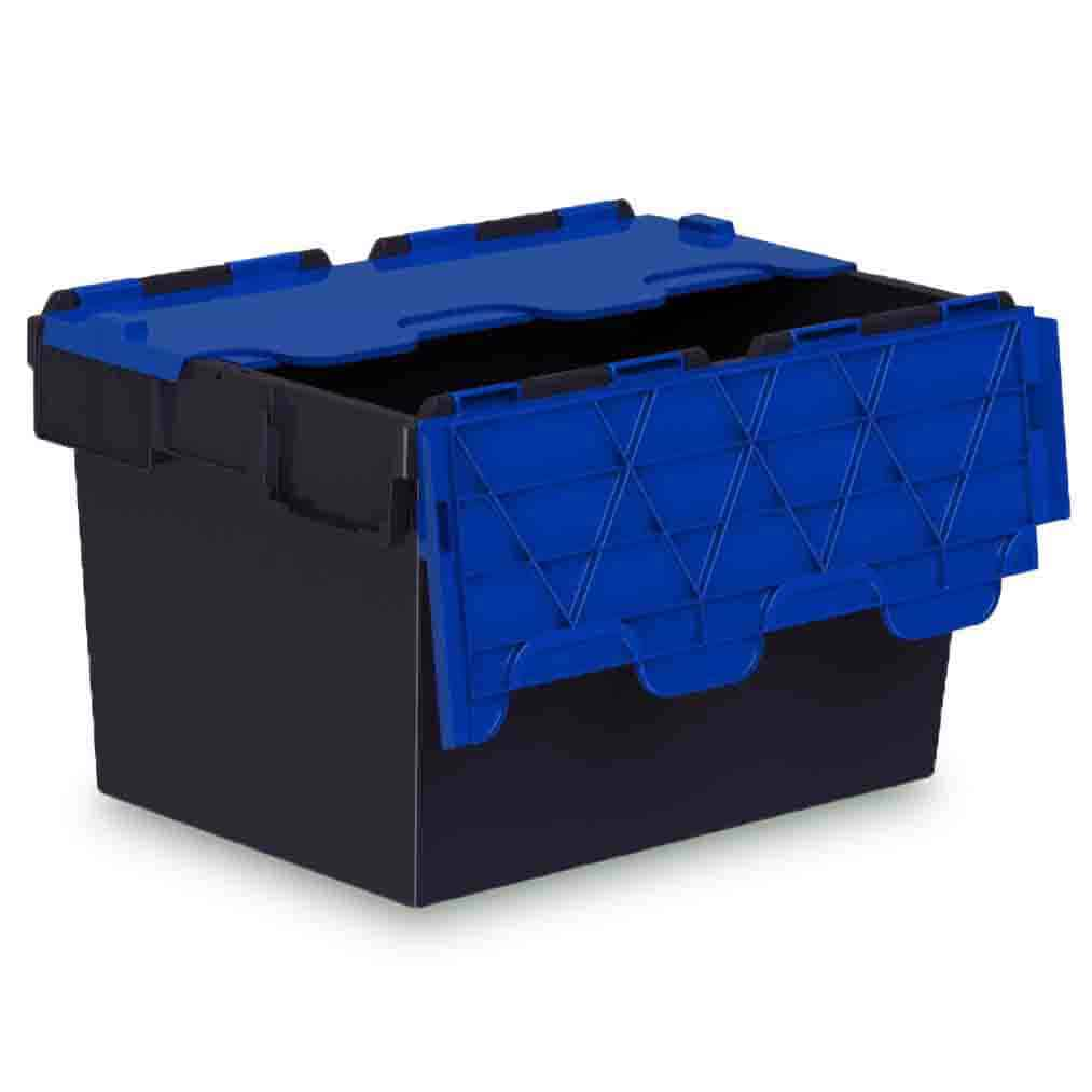 Blue Lid Euro Containers