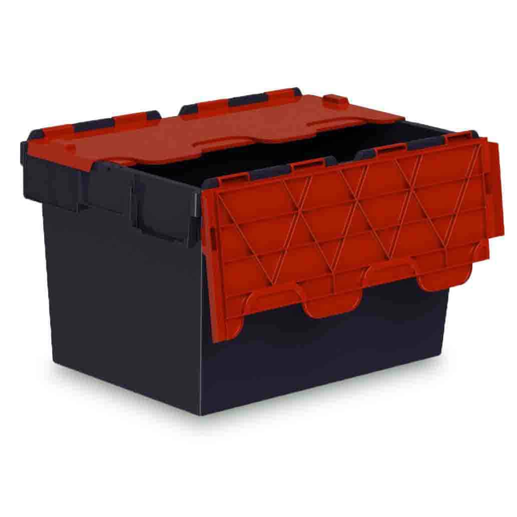 Red Lid Euro Containers