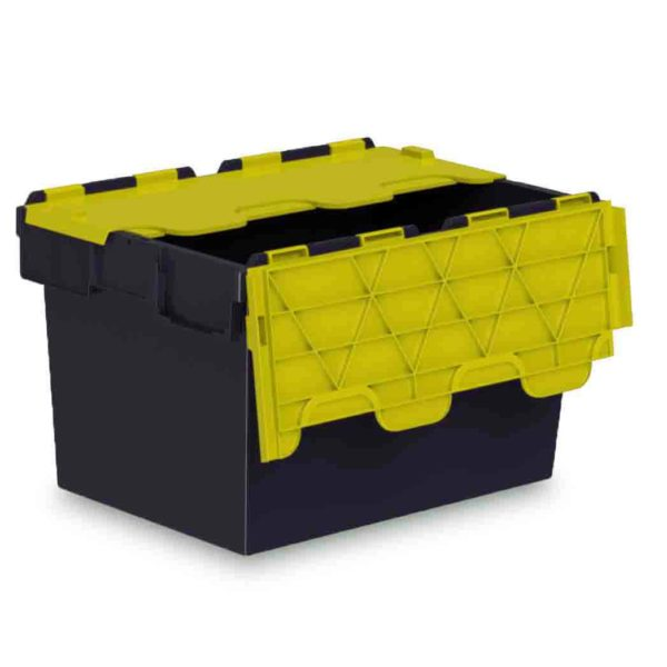 Yellow Lid Euro Containers