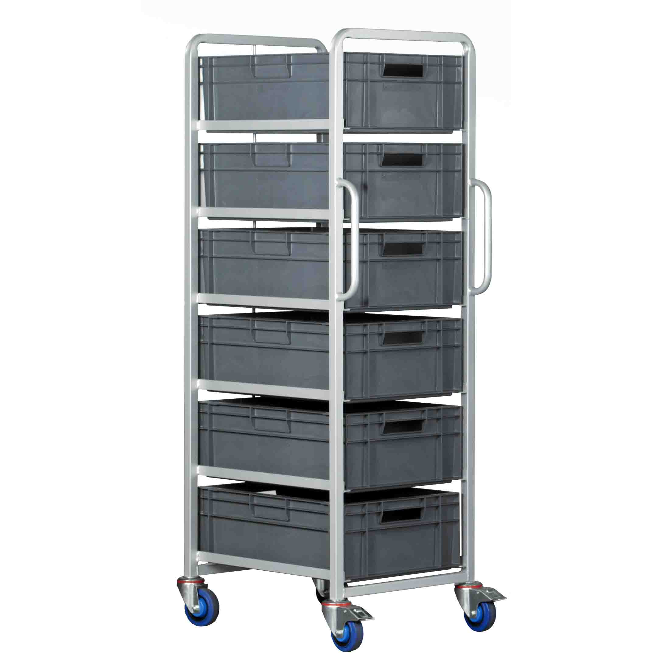 40 Litre Euro Container Tray Trolleys