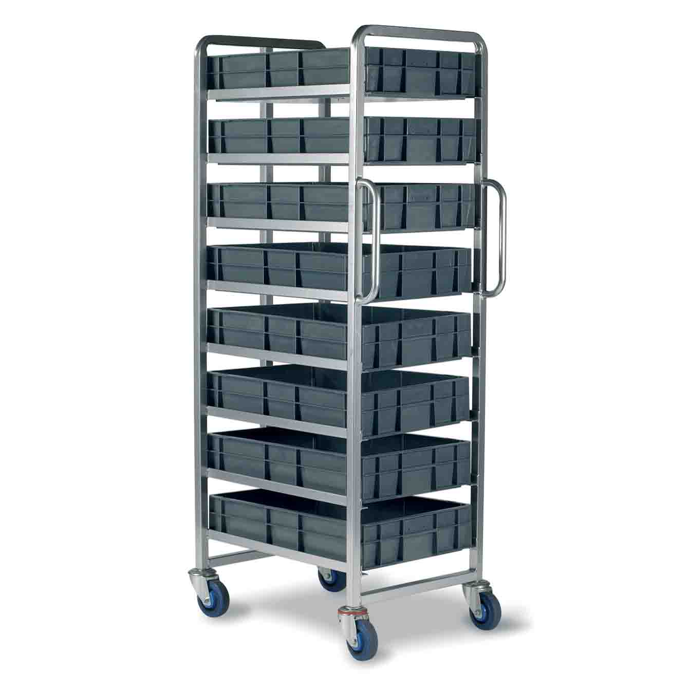 22 Litre Euro Container Tray Trolleys