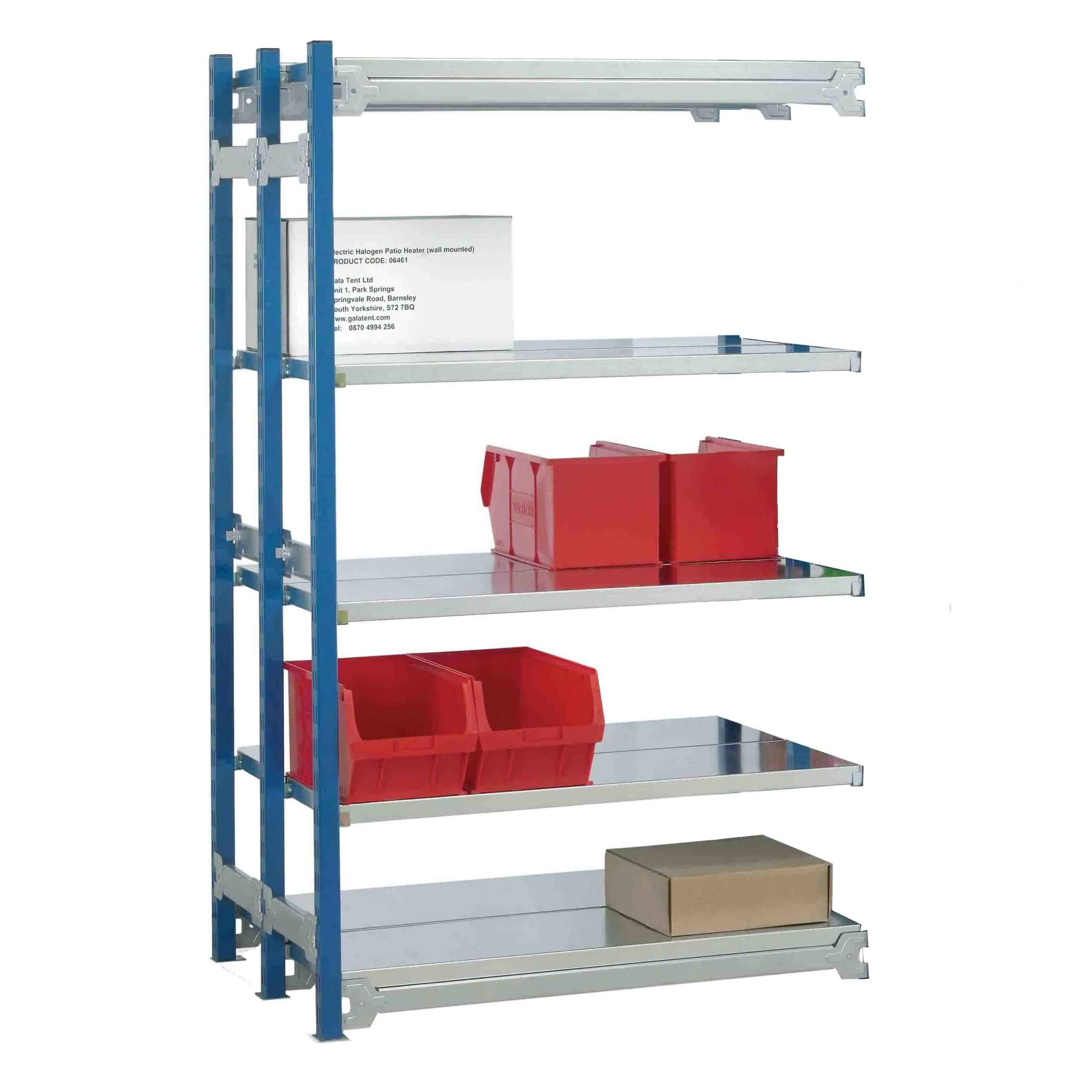 Toprax Shelving Double Extension Bay 1.5m High