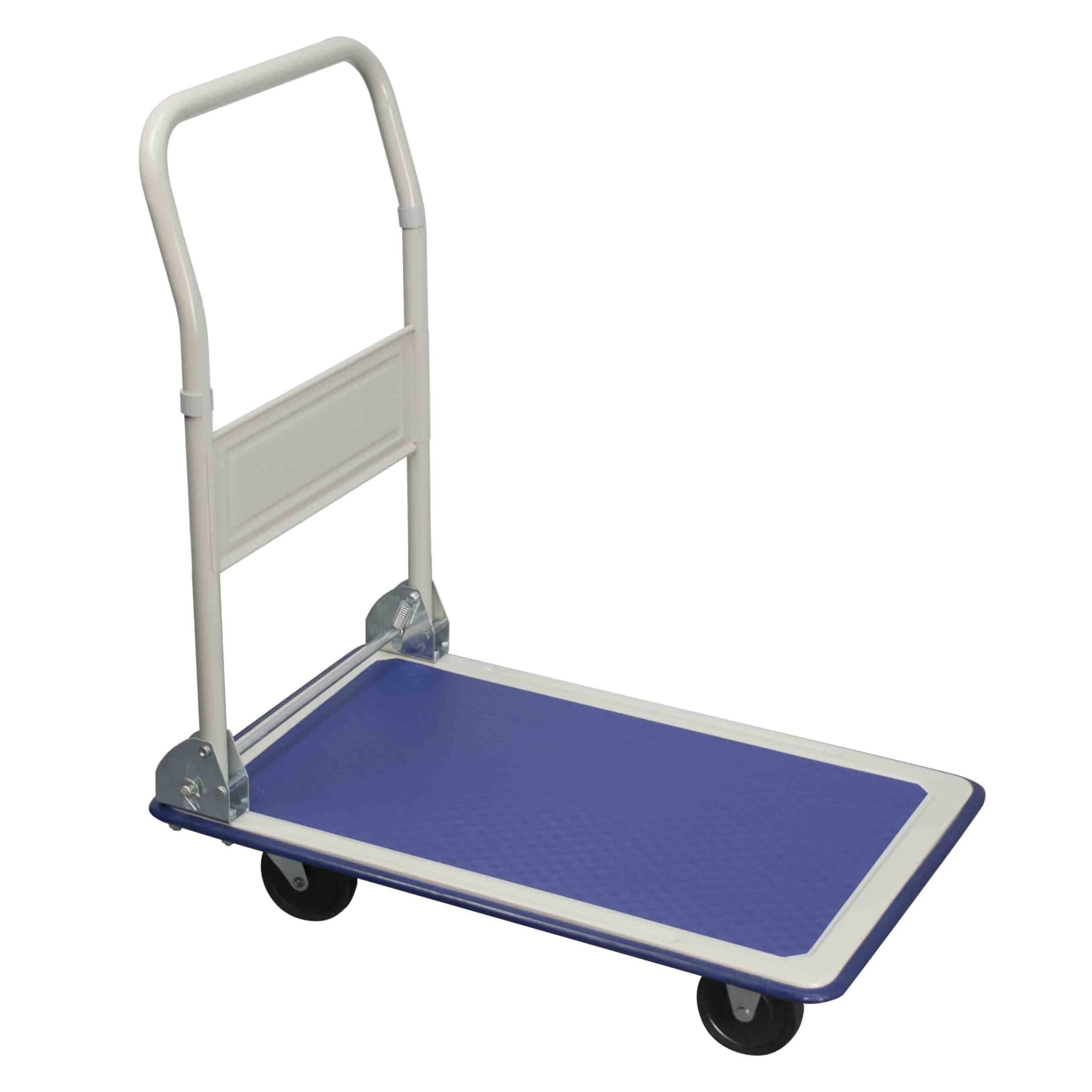 Toptruck Folding Flatbed Trolley 300kg Capacity