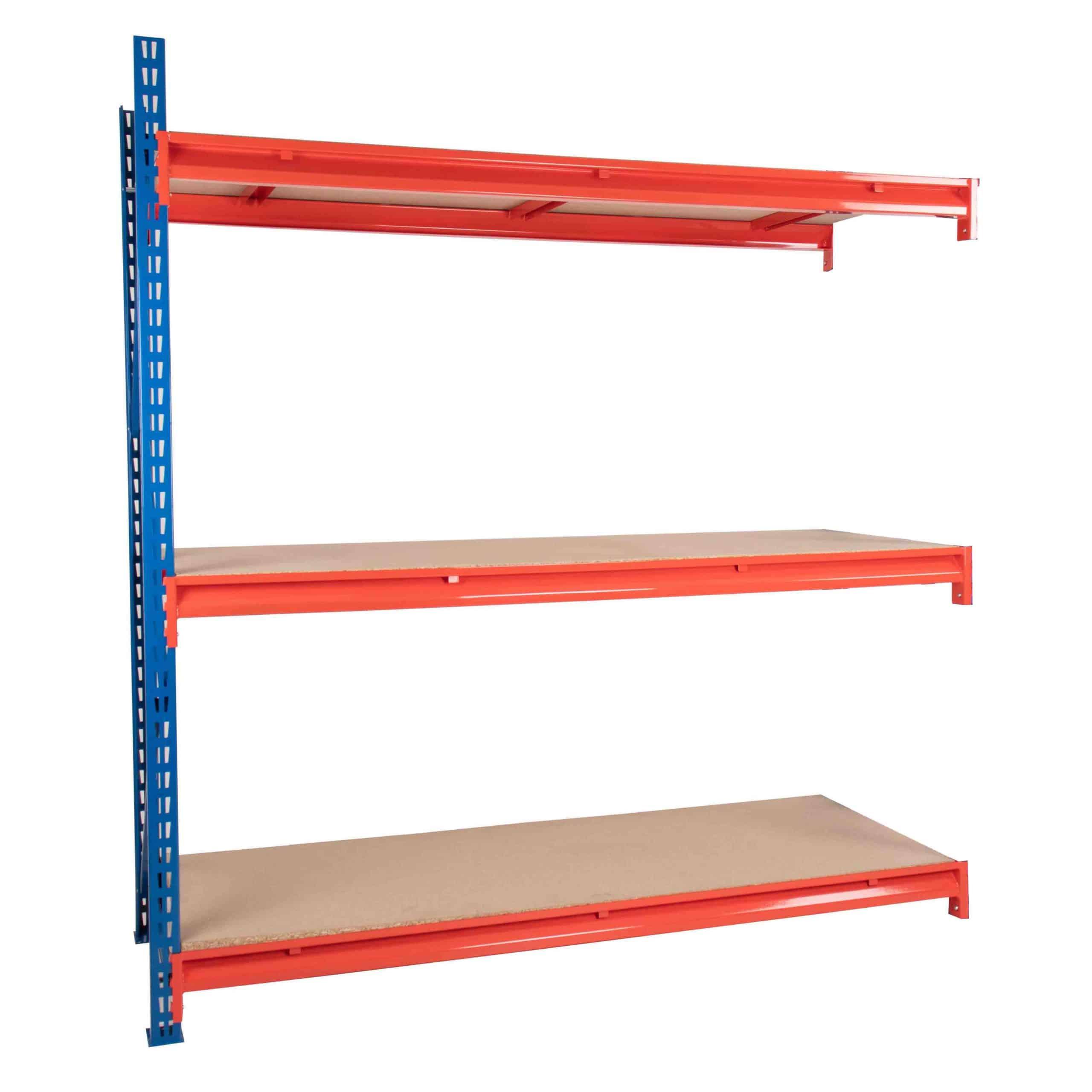 Longspan Racking Chipboard Decking Extension Bay