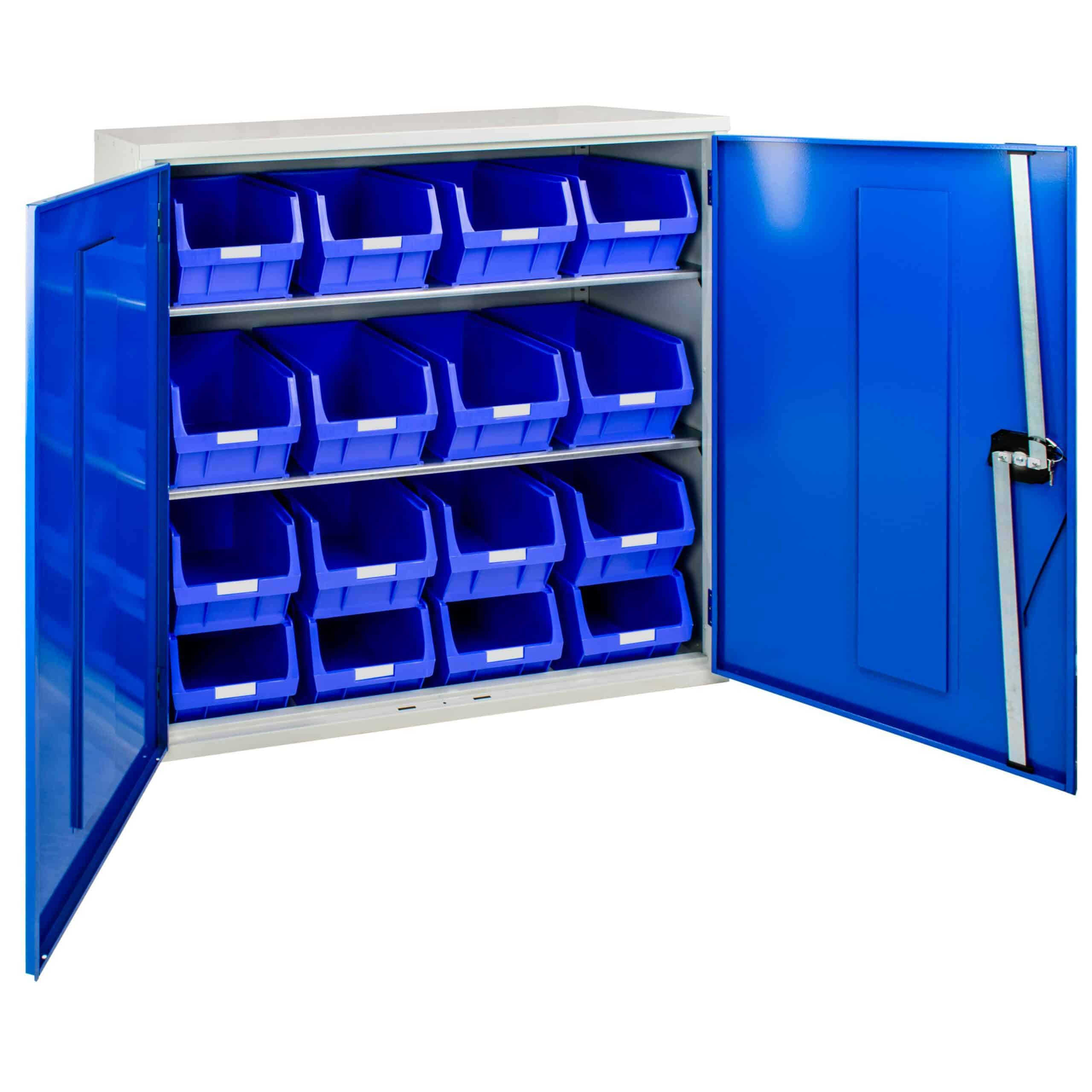 Container Cabinet with 16 TC5 Bins