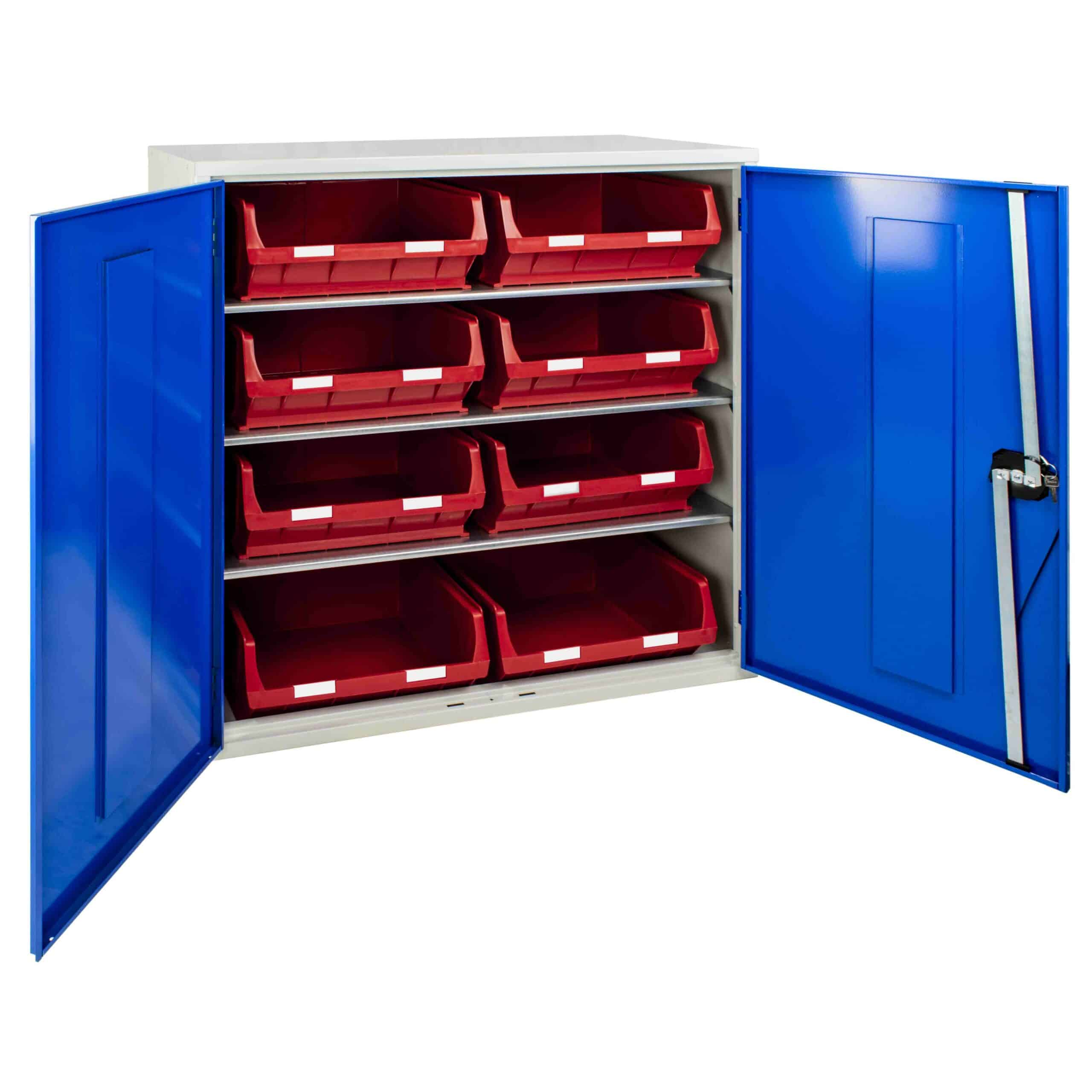 Container Cabinet with 8 TC6 Bins