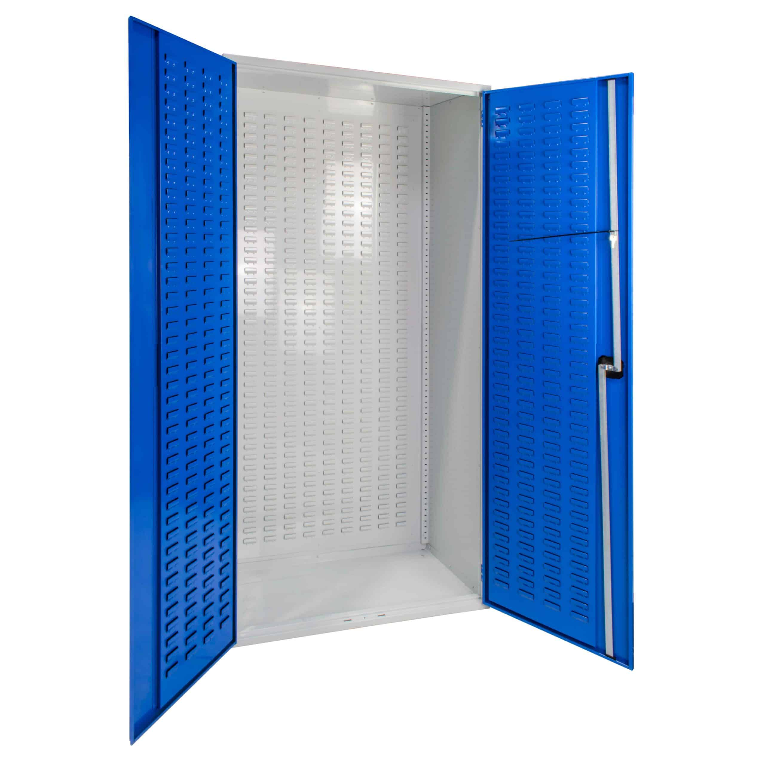 Louvred Panel Cabinet 2000mm High