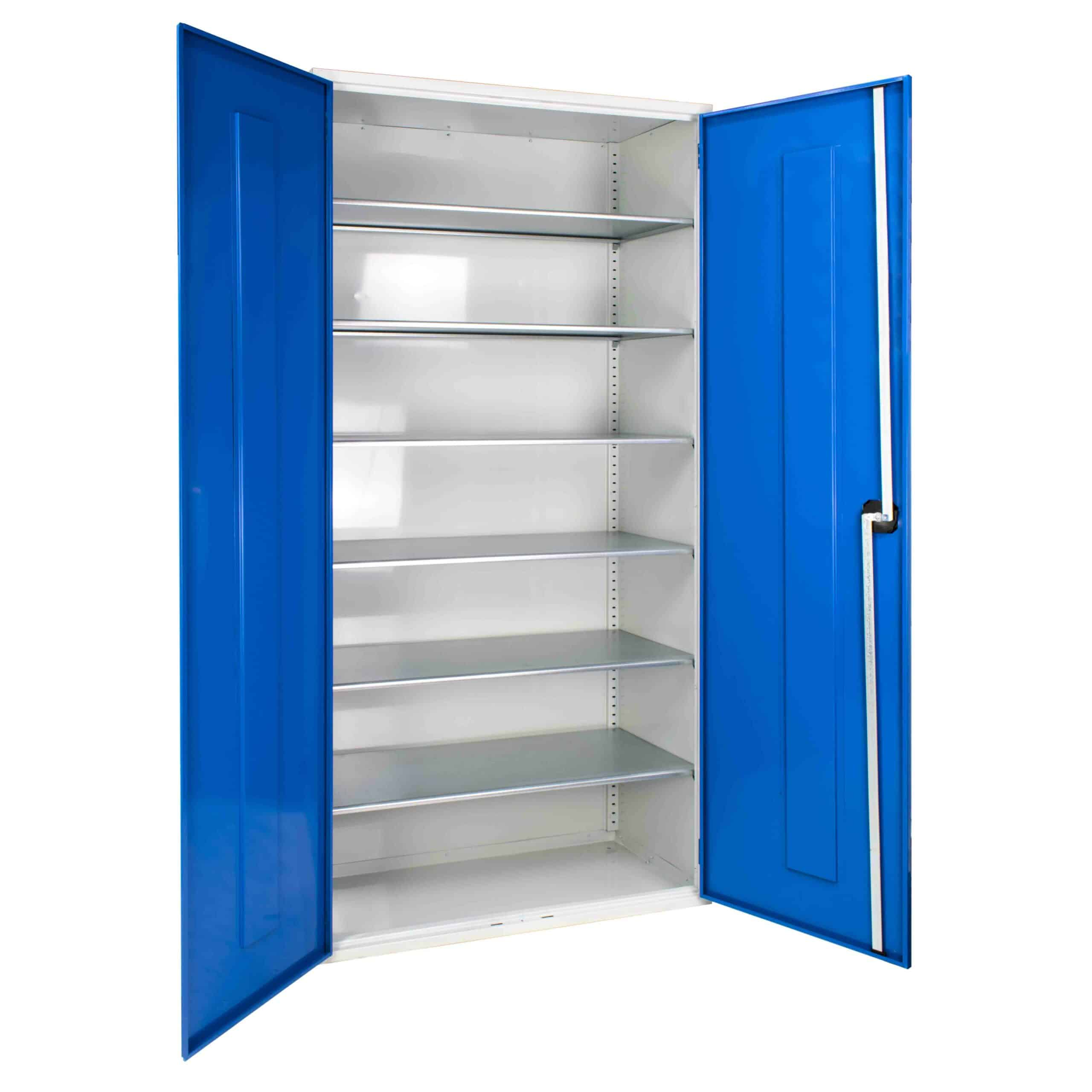 Container Cabinet With 6 Shelves 2000mm High