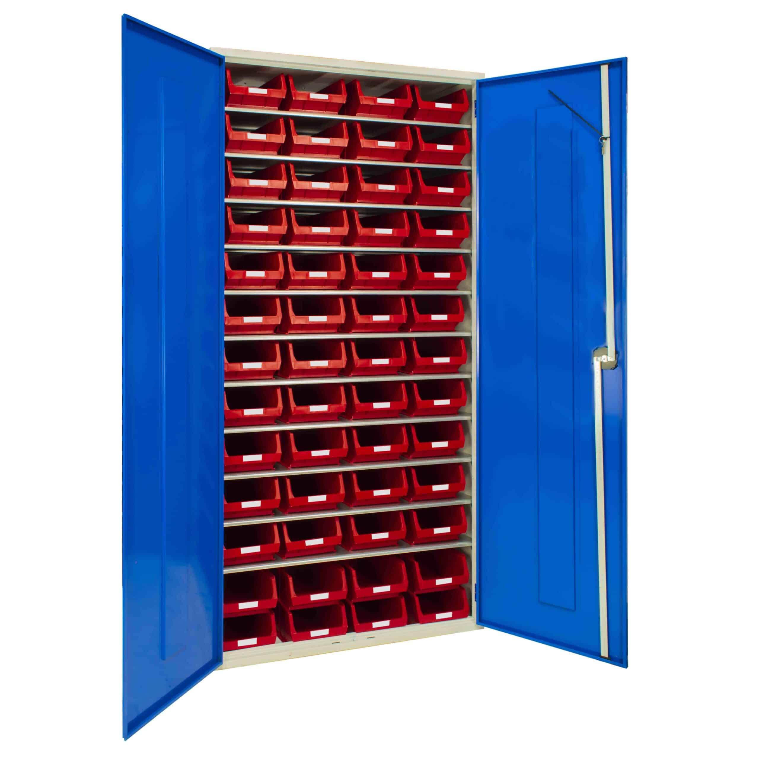 Container Cabinet With 52 TC4 Bins