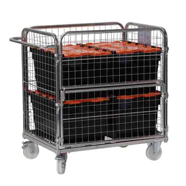 Four Sided Compact Picking Trolley
