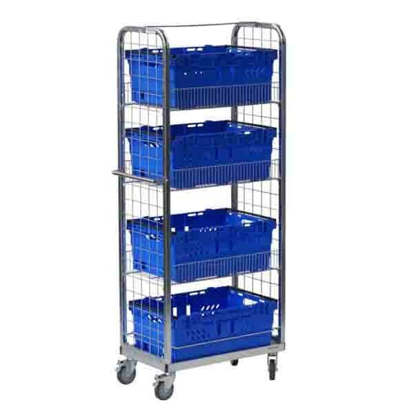 Multi-Use Display and Merchandise Picking Trolleys
